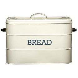 Pojemnik na pieczywo Kitchen Craft kremowy | ODBIERZ RABAT 5% NA PIERWSZE ZAKUPY >> z kategorii Chlebaki