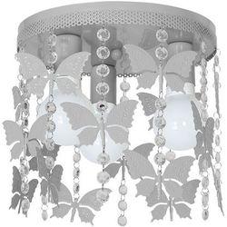 Plafon lampa oprawa sufitowa angelica 3x60w e27 szary 1167 marki Milagro