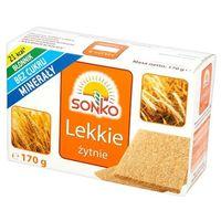 170g pieczywo lekkie żytnie | darmowa dostawa od 150 zł! marki Sonko