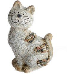 Dekoracja ogrodowa Kot z kamykami, 18 x 28,5 x 13 cm, 685184
