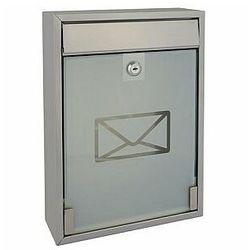 Perel skrzynka pocztowa - milan - srebrna (5411244410039)