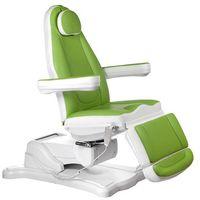 Beauty system Elektryczny fotel kosmetyczny mazaro br-6672b zielony