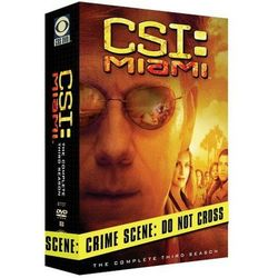 CSI: Kryminalne zagadki Miami, sezon 3 (DVD) - Joe Chappelle, Duane Clark, Frederick K. Keller (film)