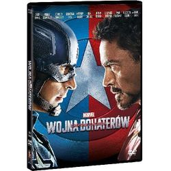 Kapitan Ameryka: Wojna bohaterów (DVD) z kategorii Filmy przygodowe