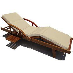 MATERAC PODUSZKA PODUCHA NA LEŻAK 195x55x6 cm - produkt z kategorii- leżaki ogrodowe