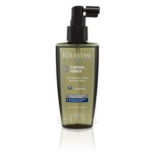 Homme Capital Force - Spray przeciwłupieżowy dla mężczyzn 125 ml, marki Kerastase do zakupu w Estyl.pl