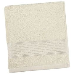 Ręcznik Kamilka Pasek beżowy, 50 x 100 cm
