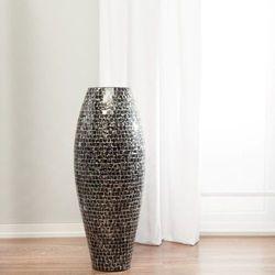 Dekoria  wazon suri czarno-biały, 100 cm, 100cm