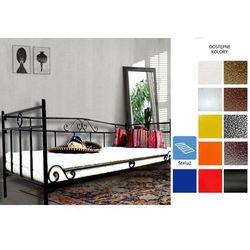 łóżko metalowe felicja 100 x 200 marki Frankhauer