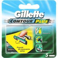 Procter & gamble Wkłady do maszynki gillette contour plus (5 sztuk)