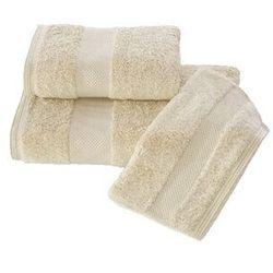 Luksusowe ręczniki kąpielowe DELUXE 75x150cm Jasnobeżowy