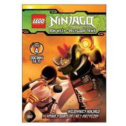 LEGO NINJAGO. ROK WĘŻY. PRZYGODA TRWA, CZĘŚĆ 4 GALAPAGOS Films 7321997610069 - produkt z kategorii- Bajki