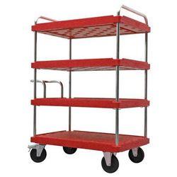 Wózek piętrowy do dużych obciążeń,dł. x szer. 1200 x 800 mm, nośność 500 kg