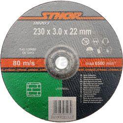 Tarcza do cięcia kamienia 230 x 3,0 x 22 mm / 08203 / STHOR - ZYSKAJ RABAT 30 ZŁ