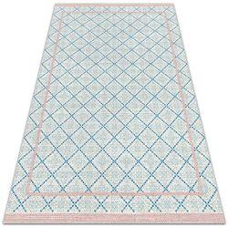 Dywanomat.pl Dywan na taras zewnętrzny dywan na taras zewnętrzny niebieskie linie
