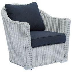 Miloo:: Fotel ogrodowy MADERA z poduszkami