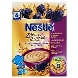Nestle Kaszka Zdrowy Brzuszek owsiano-pszenna ze śliwką po 6 miesiącu 250g z kategorii Kaszki i kleiki dla