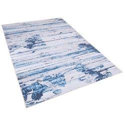 Beliani Dywan niebieski 160 x 230 cm krótkowłosy burdur