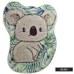 dywan do pokoju dziecięcego dinkley w kształcie koali 120x160 cm marki Selsey