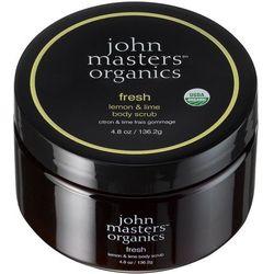 John Masters Odświeżająca limonka i cytryna - peeling do ciała 136,2g ()