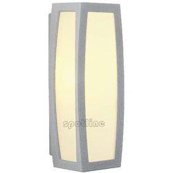 Spotline - slv Zewnętrzna lampa ścienna meridian box 230044 spotline sufitowa oprawa ogrodowa ip54 outdoor srebrnoszary