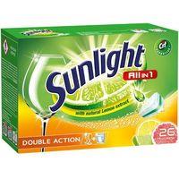 sunlight tabletki do zmywarki (668180) darmowy odbiór w 20 miastach! marki Unilever