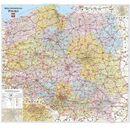 Polska mapa kodowa ścienna -., Demart