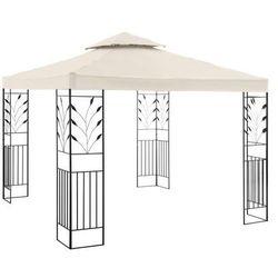Uniprodo Pawilon ogrodowy - ornament - kremowy