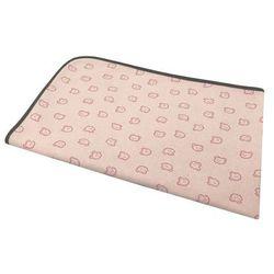 Dolce sonno Kocyk - otulacz teddy bear różowy