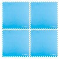 Insportline Mata fitness  eva40 200 x 200 cm do ćwiczeń - kolor niebieski (8595153649593)