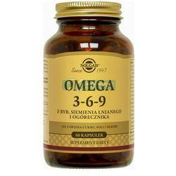 SOLGAR Omega 3-6-9 kaps. 60 kaps. - kapsułki Witaminyi minerały