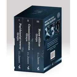 Pięćdziesiąt twarzy Greya / Ciemniejsza strona Greya / Nowe oblicze Greya, pozycja wydana w roku: 2013