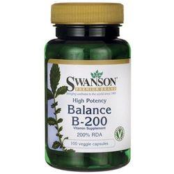 Balance B-200 100 kapsułek (Witaminy i minerały)