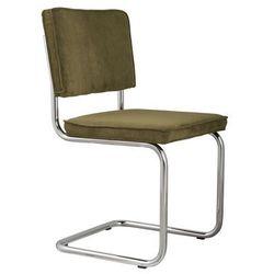 krzesło ridge rib zielone 25a 1006009 marki Zuiver