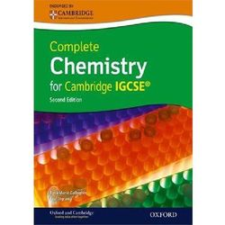 Complete Chemistry for Cambridge IGCSE with CD-ROM, książka z ISBN: 9780199138784