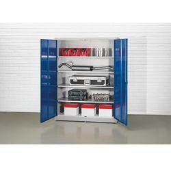 Szafa z drzwiami skrzydłowymi Jumbo, szer. 1500 mm, 4 półki, głęb. 420 mm, drzwi