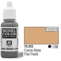 VALLEJO Farba Nr18 Flat Flesh Matt 17ml, kup u jednego z partnerów