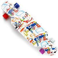 Deskorolka  longboard plastikowa pp 31