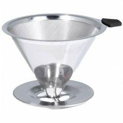 Zaparzacz do kawy pour over stalowy marki Bialetti