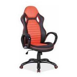 Signal meble Fotel q-105 czerwono-czarny - zadzwoń i złap rabat do -10%! telefon: 601-892-200