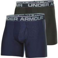Bokserki Under Armour Original Series Twist Boxerjock 2pak M 1282508-412, kolor niebieski