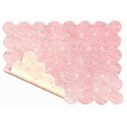 Dywan do prania w pralce Dwustronny Galleta Pink/Beige, kup u jednego z partnerów