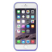 Puro Obudowa  bumper cover iphone 6 4.7 folia ochronna niebieski