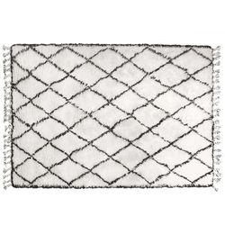 Hk living  dywan berber czarnobiały 180x280cm tap0863