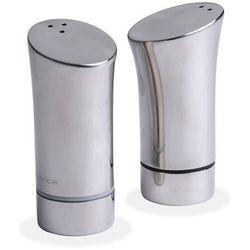 - solniczka i pieprzniczka - zestaw srebrny marki Nuance