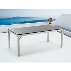 Meble ogrodowe - stół granitowy 180 cm – czarny polerowany - TORINO