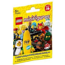 Lego Minifigures KOLEKCJA MINIFIGUREK KOMPLET 16 el. 71013 (dziecięce klocki)