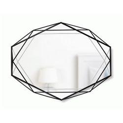 Loftowe lustro senmi - czarne marki Producent: elior