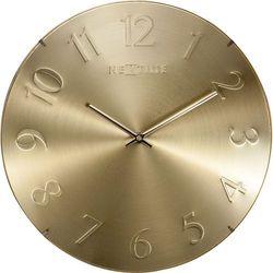 Zegar ścienny Elegant Dome złoty by NeXtime