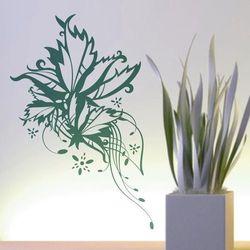 Wally - piękno dekoracji Szablon malarski kwiaty 1199
